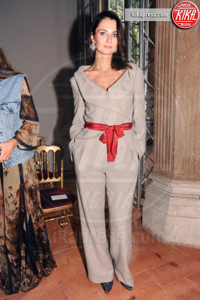 Anna Safroncik - Milano - 21-09-2016 - Milano Moda Donna: Chiara Ferragni da Alberta Ferretti