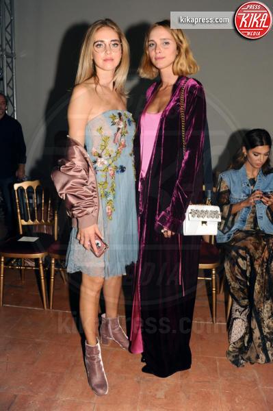Candela Novembre, Chiara Ferragni - Milano - 21-09-2016 - Milano Moda Donna: Chiara Ferragni da Alberta Ferretti