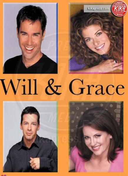 Eric McCormack, Sean Hayes, Megan Mullally, Debra Messing - Hollywood - 26-09-2016 - Will & Grace in lutto: morta la cameriera Rosario