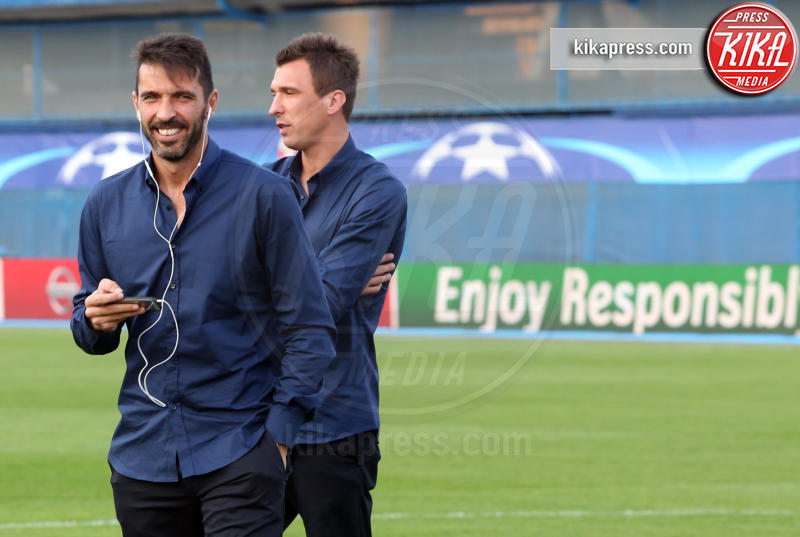 Mario Mandzukic, Gianluigi Buffon - Zagabria - 26-09-2016 - Gigi Buffon confessa: