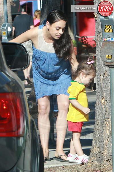 Wyatt Isabelle Kutcher, Mila Kunis - Los Angeles - 27-09-2016 - Mila Kunis è diventata mamma per la seconda volta