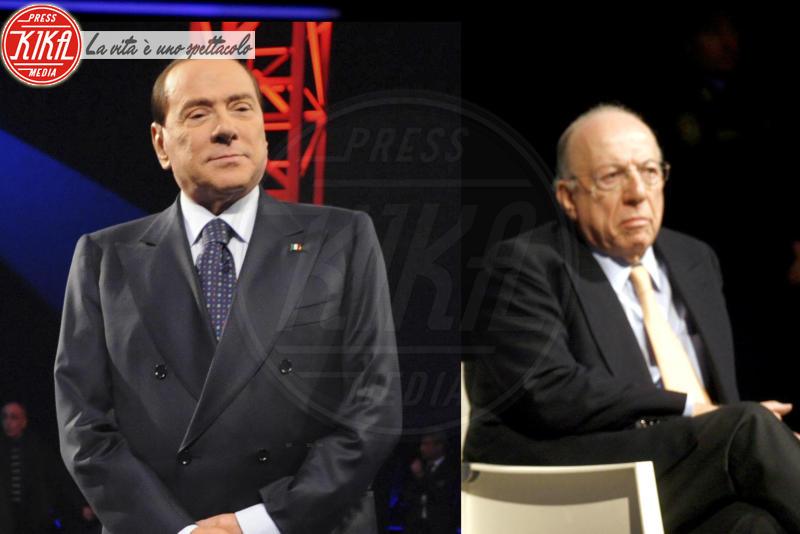 Fedele Confalonieri, Silvio Berlusconi - Milano - 29-09-2016 - Silvio Berlusconi in ospedale per battito cardiaco irregolare