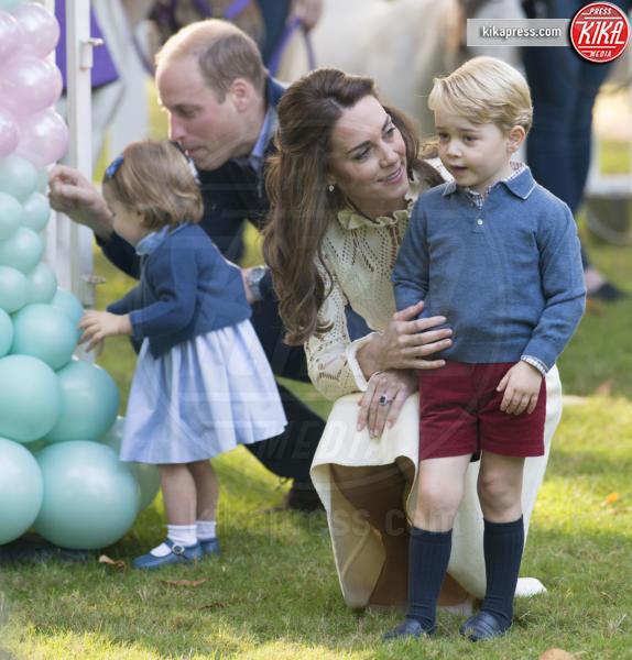 Principessa Charlotte Elizabeth Diana, Principe George, Principe William, Kate Middleton - Victoria - 30-09-2016 - Principino George: le sette foto che lo hanno resto una star