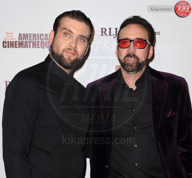 Weston Cage, Nicolas Cage - Hollywood - 30-09-2016 - Figli delle stelle, delinquenti si diventa