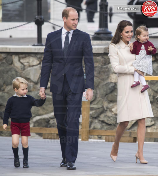 Principessa Charlotte Elizabeth Diana, Principe George, Principe William, Kate Middleton - Victoria - 01-10-2016 - Goodbye Canada! I duchi di Cambridge tornano a casa