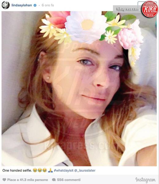 Lindsay Lohan - 03-10-2016 - Lindsay Lohan perde una falange, ma non il buonumore