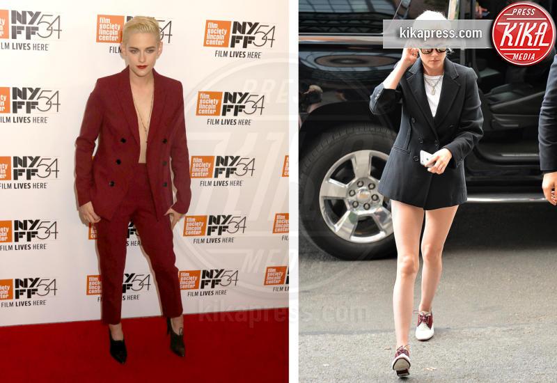 Kristen Stewart - Blake Lively: pantaloni? No grazie, sotto la giacca... niente!