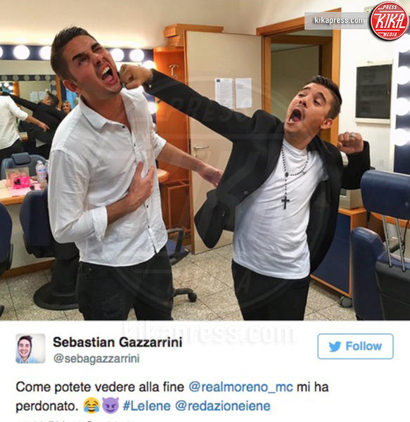 Sebastian Gazzarini, Moreno - Milano - 04-10-2016 - Un figlio per Moreno, il rapper finisce in lacrime a Le Iene