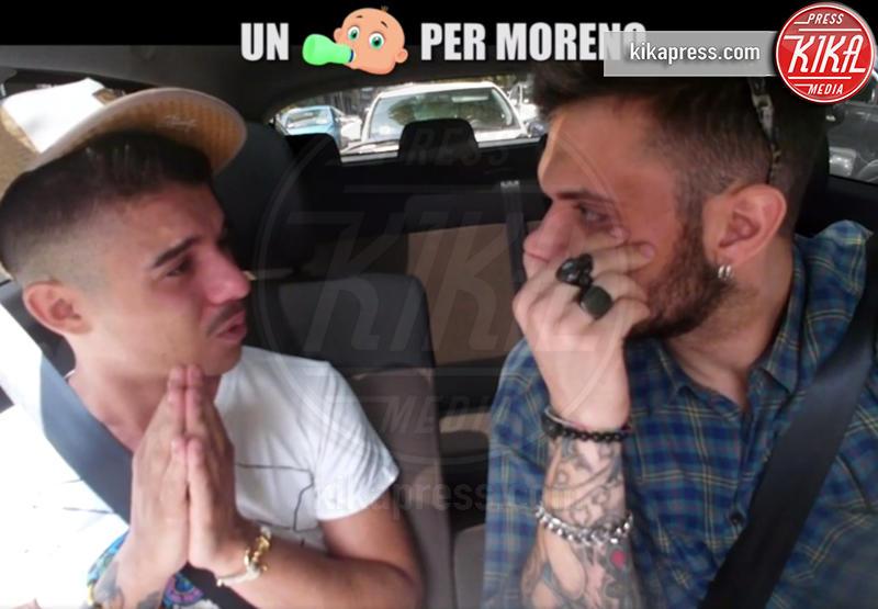 Moreno - Milano - 04-10-2016 - Un figlio per Moreno, il rapper finisce in lacrime a Le Iene
