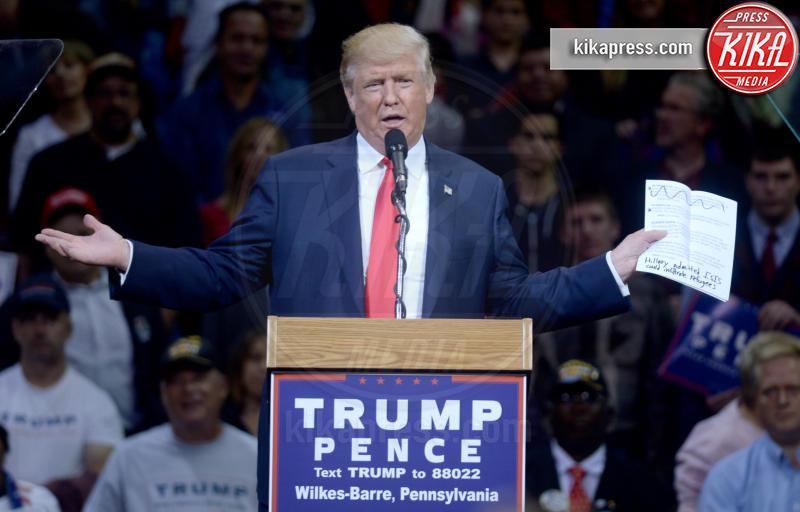 Donald Trump - Wilkes-Barre - 11-10-2016 - Trump e gli altri: i vip in italia per una vacanza 5 stelle
