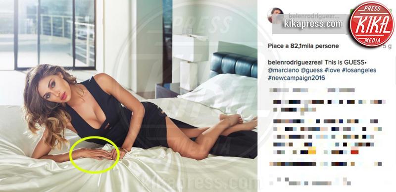 Belen Rodriguez - Milano - 12-10-2016 - Orrori da Photoshop! Chiara Nasti ne esce con eleganza