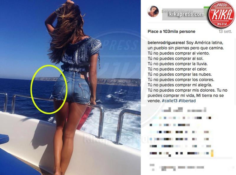 Belen Rodriguez - 12-10-2016 - Orrori da Photoshop! Chiara Nasti ne esce con eleganza