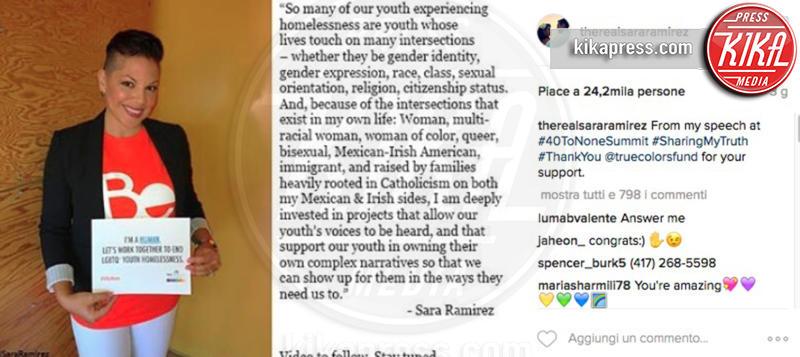 Sara Ramirez - 12-10-2016 - Susan Sarandon: Il mio orientamento sessuale? È a disposizione!