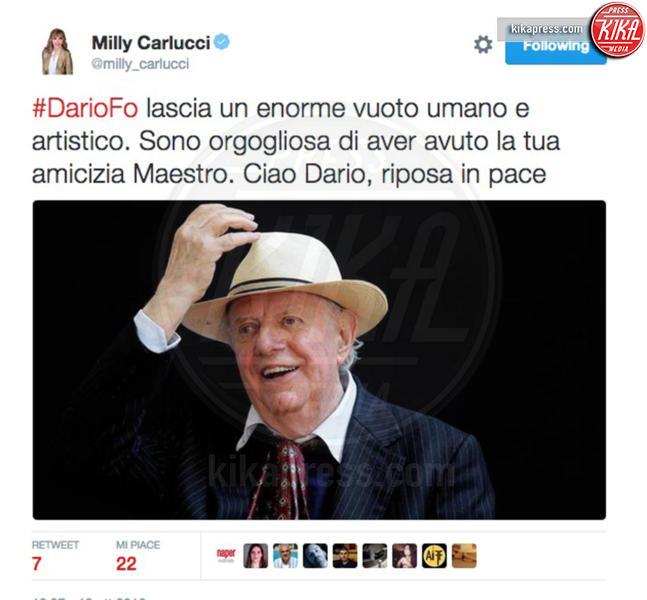 Dario Fo - 13-10-2016 - La morte di Dario Fo: il cordoglio sui social