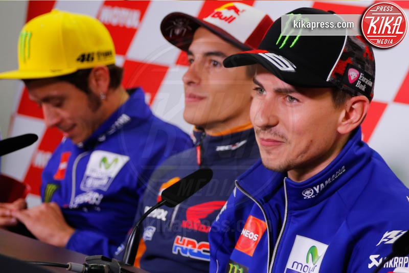 Marc Marquez, Jorge Lorenzo, Valentino Rossi - Motegi - 13-10-2016 - Motegi: Valentino Rossi si sente favorito