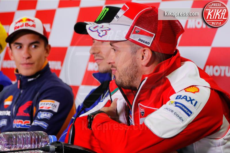 Marc Marquez, Andrea Dovizioso, Jorge Lorenzo - Motegi - 13-10-2016 - Motegi: Valentino Rossi si sente favorito
