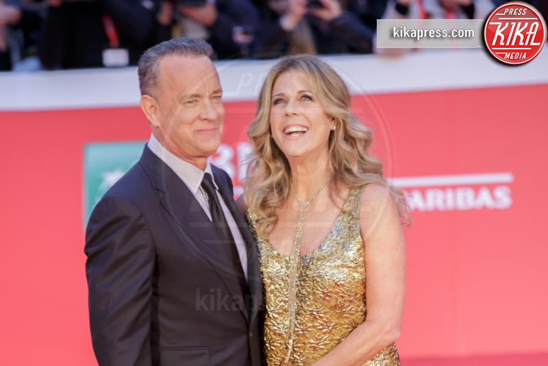 Tom Hanks, Rita Wilson - Roma - 13-10-2016 - Cruz-Bardem & co: gli amori più romantici dello showbiz