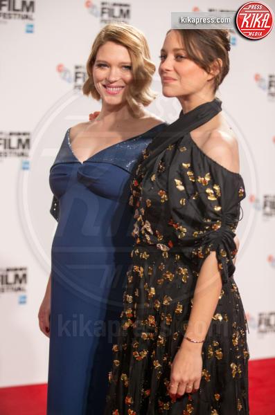 Lea Seydoux, Marion Cotillard - Londra - 14-10-2016 - Amal Clooney incinta! Ecco le star che saranno mamme nel 2017