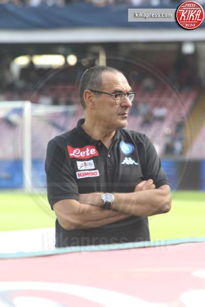 Maurizio Sarri - Napoli - 15-10-2016 - La Roma espugna il San Paolo di Napoli 3 a 1