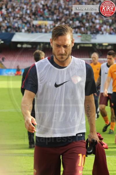 Francesco Totti - Napoli - 15-10-2016 - La Roma espugna il San Paolo di Napoli 3 a 1
