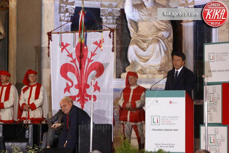 Matteo Renzi - Firenze - 17-10-2016 - Matteo Renzi agli stati generali della lingua italiana a Firenze
