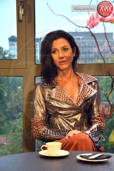 Federica Torti - Milano - 14-10-2016 - Federica Torti attende una chiamata da Urbano Cairo