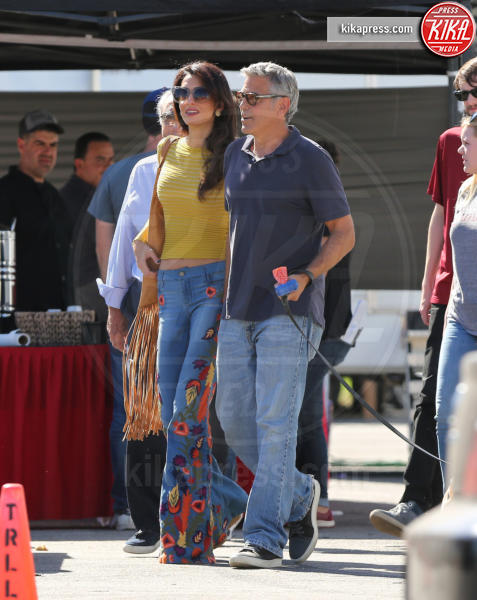 Amal Alamuddin Clooney, George Clooney - Los Angeles - 20-10-2016 - George Clooney e Amal aspettano due gemelli, è ufficiale