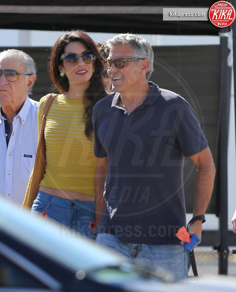Amal Alamuddin Clooney, George Clooney - Los Angeles - 20-10-2016 - George Clooney e Amal aspettano due gemelli, è ufficiale
