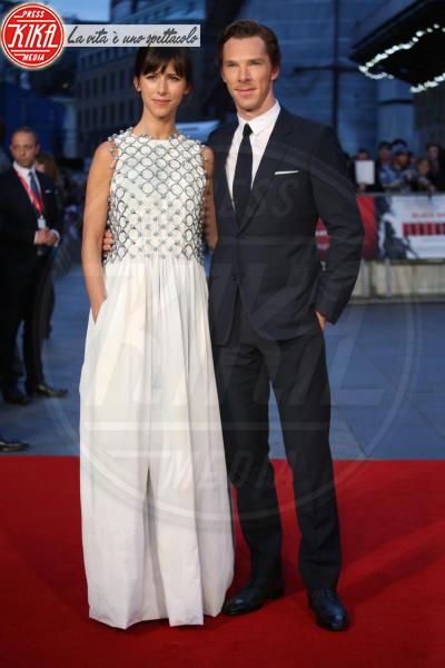 Sophie Hunter, Benedict Cumberbatch - Londra - 11-10-2015 - Benedict Cumberbatch papà per la seconda volta