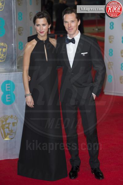 Sophie Hunter, Benedict Cumberbatch - Londra - 08-02-2015 - Benedict Cumberbatch papà per la seconda volta