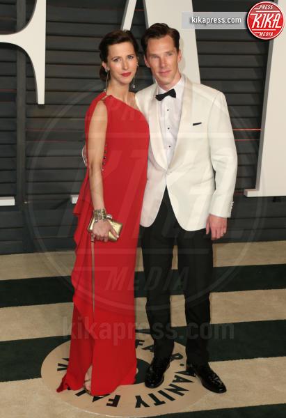 Sophie Hunter, Benedict Cumberbatch - Beverly Hills - 24-02-2015 - Benedict Cumberbatch papà per la seconda volta