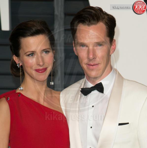 Sophie Hunter, Benedict Cumberbatch - Los Angeles - 22-02-2015 - Benedict Cumberbatch papà per la seconda volta