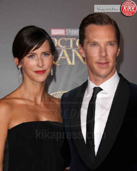 Sophie Hunter, Benedict Cumberbatch - Hollywood - 21-10-2016 - Benedict Cumberbatch papà per la seconda volta