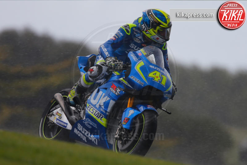 Aleix Espargaro - Australia - 21-10-2016 - Moto Gp Australia, dopo le qualifiche Marquez in pole