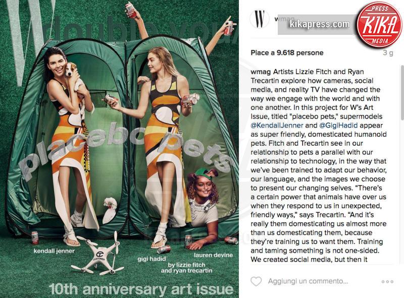 Gigi Hadid, Kendall Jenner - 24-10-2016 - Orrori da Photoshop! Chiara Nasti ne esce con eleganza