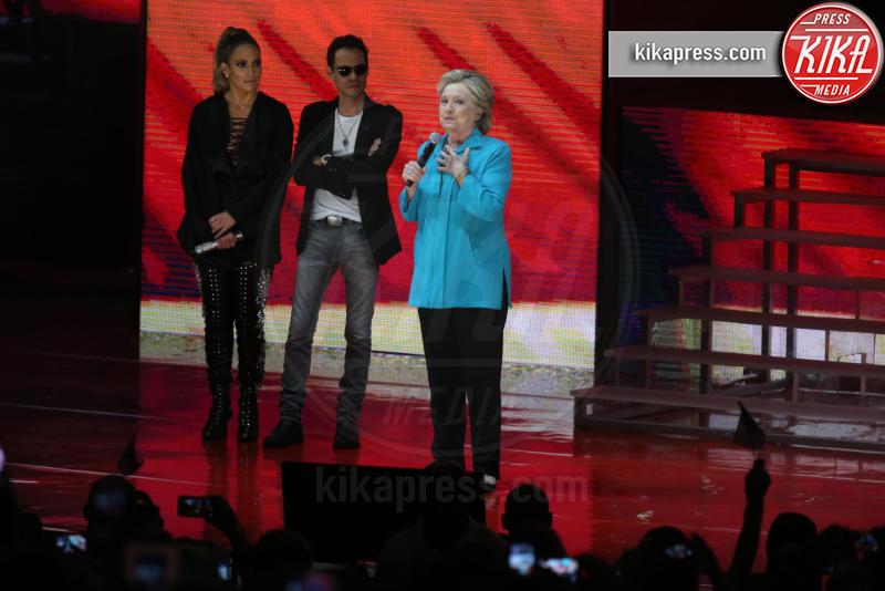 Hillary Clinton, Marc Anthony, Jennifer Lopez - Miami - 29-10-2016 - J Lo e Marc Anthony ancora insieme ma solo per Hillary Clinton!