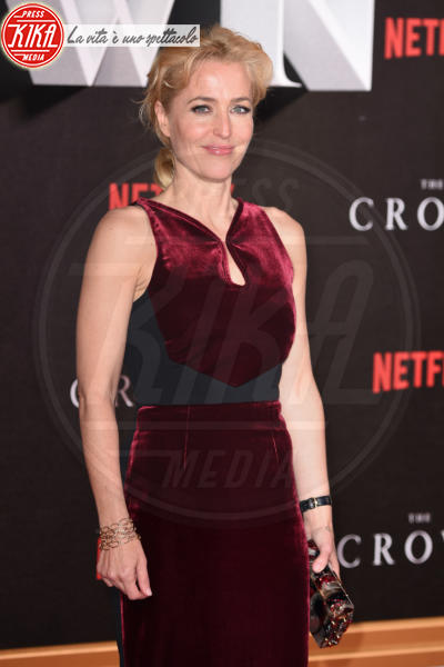Gillian Anderson - Londra - 01-11-2016 - The Crown: Miglior serie tv drammatica