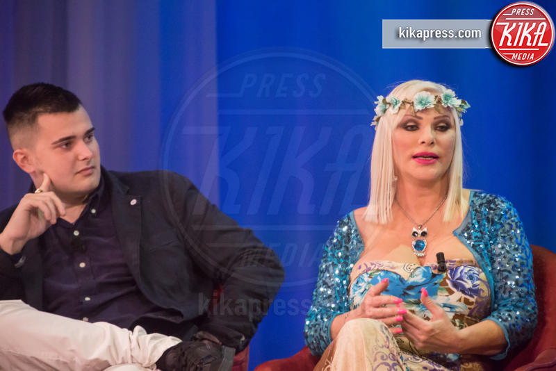 Stefano Zecchi, Ludwig Koons, Ilona Staller - Roma - 03-11-2016 - Maurizio Costanzo Show, Wanna Marchi:
