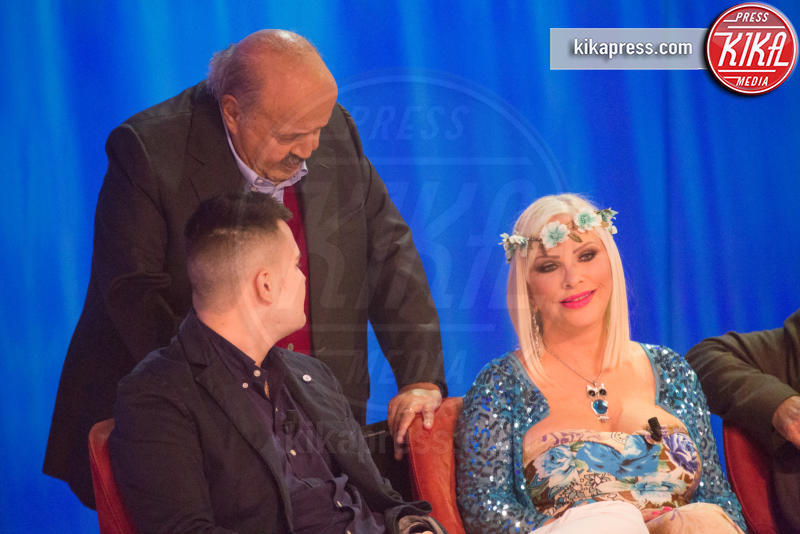 Maurizio Costanzo, Ludwig Koons, Ilona Staller - Roma - 03-11-2016 - Maurizio Costanzo Show, Wanna Marchi: