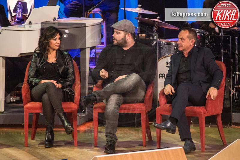 Salvatore Esposito, Tiziana, Antonio Giuliani - Roma - 03-11-2016 - Maurizio Costanzo Show, Wanna Marchi: