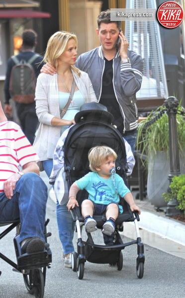 Noah Bublé, Luisana Lopilato, Michael Bublè - Hollywood - 04-09-2015 - Michael Bublé, buone notizie: Noah è guarito dal tumore