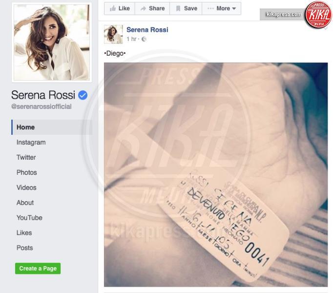 Diego Devenuto, Serena Rossi - 07-11-2016 - Fiocco azzurro per Serena Rossi: è nato Diego!
