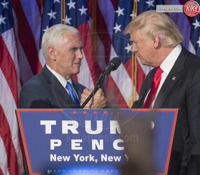 Mike Pence, Donald Trump - New York - 09-11-2016 - Trump gela l'Europa: ecco gli estratti delle sue interviste