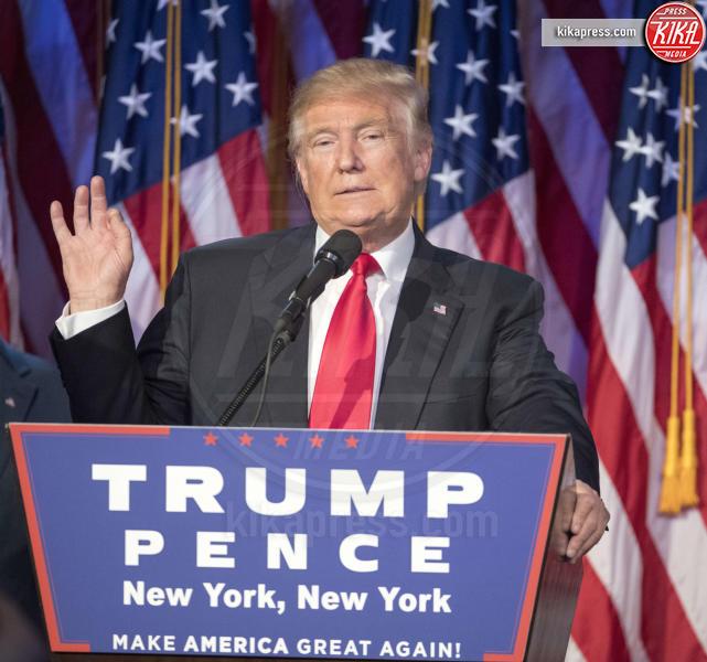 Donald Trump - New York - 09-11-2016 - Trump ha iniziato a costruire il famoso muro col Messico