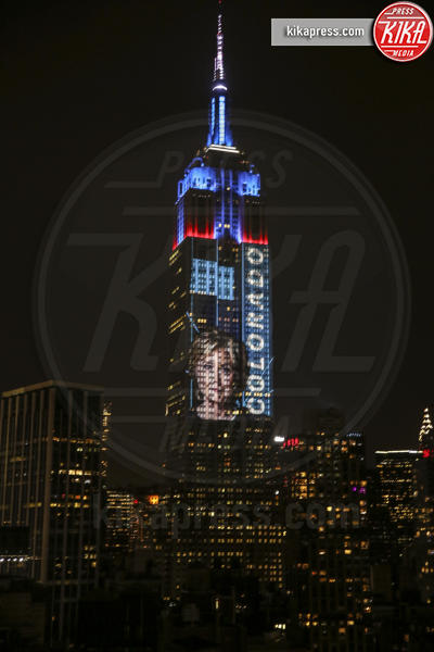 Empire State Building, Hillary Clinton - New York - 09-11-2016 - Donald Trump: