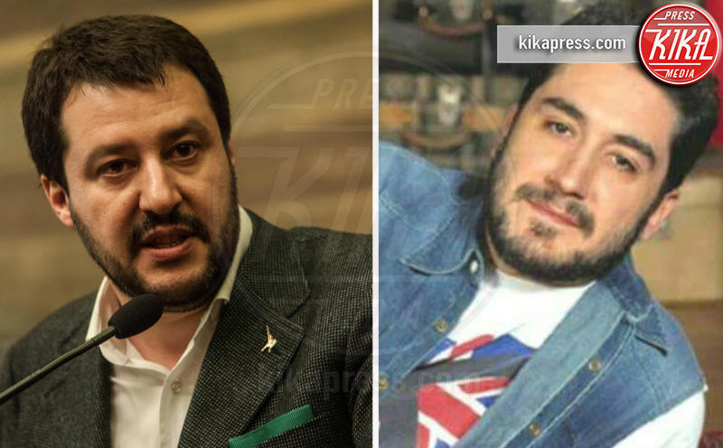 Alfonso Lara, Matteo Salvini - Hollywood - 09-11-2016 - Separati alla nascita: le star e i loro cloni