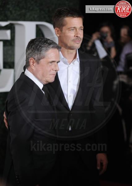 Brad Grey, Brad Pitt - Westwood - 09-11-2016 - Brad Pitt: io e Marion Cotillard? Ci metto la firma!