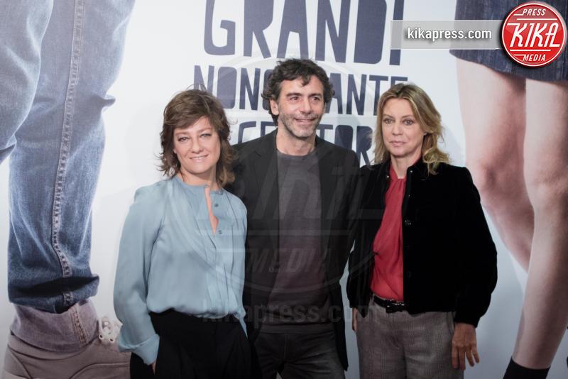 Luca Lucini, Giovanna Mezzogiorno, Margherita Buy - Roma - 10-11-2016 - Margherita Buy e Giovanna Mezzogiorno, coppia di donne al cinema