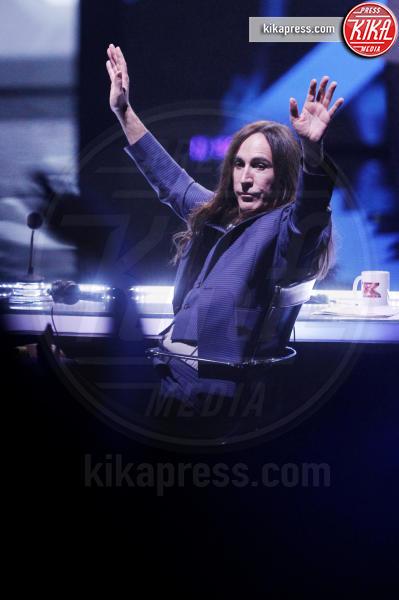 Manuel Agnelli - Milano - 10-11-2016 - X Factor 11: Chiara Ferragni sul tavolo dei giudici