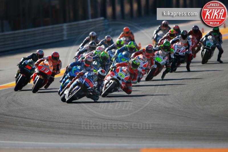 Valencia - Valencia - 13-11-2016 - Moto Gp di Spagna: vince Lorenzo, ma Marquez è campione